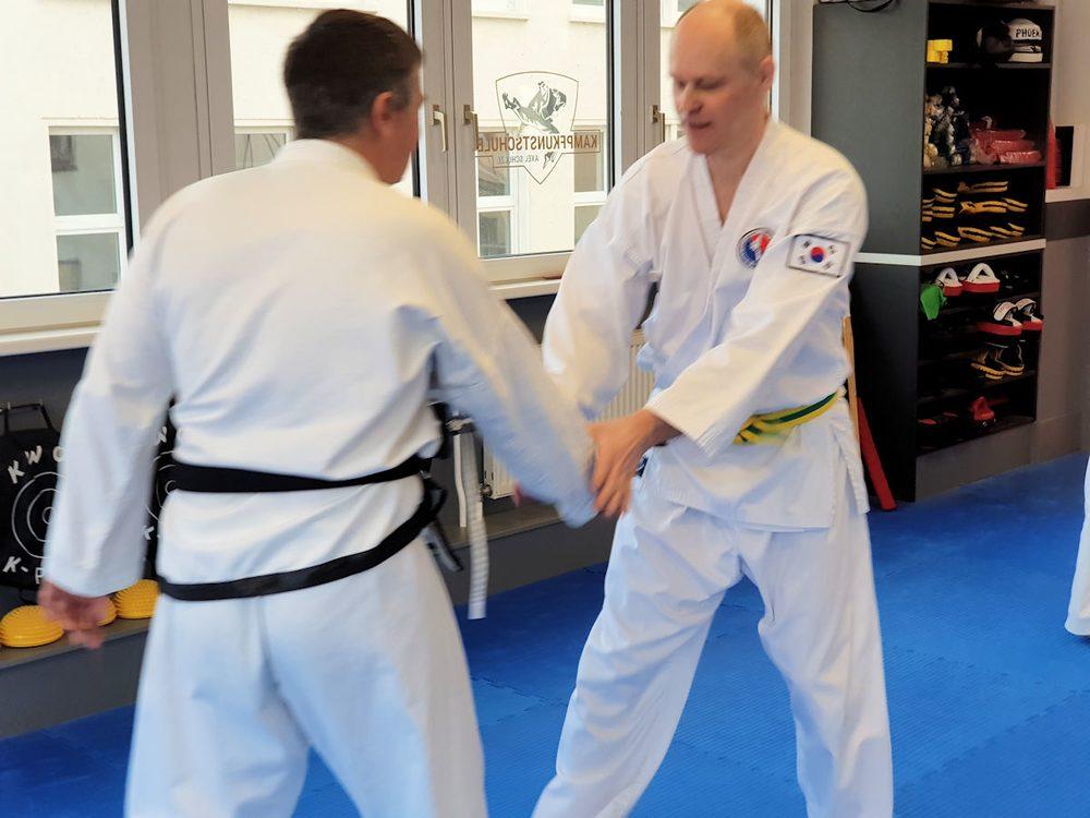 Lehrgang zur effektiven Selbstverteidigung am 17.02.2019 in der Kampfkunstschule Jena