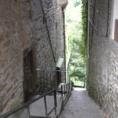 Fußaufstieg nach Collonges-le-Rouge