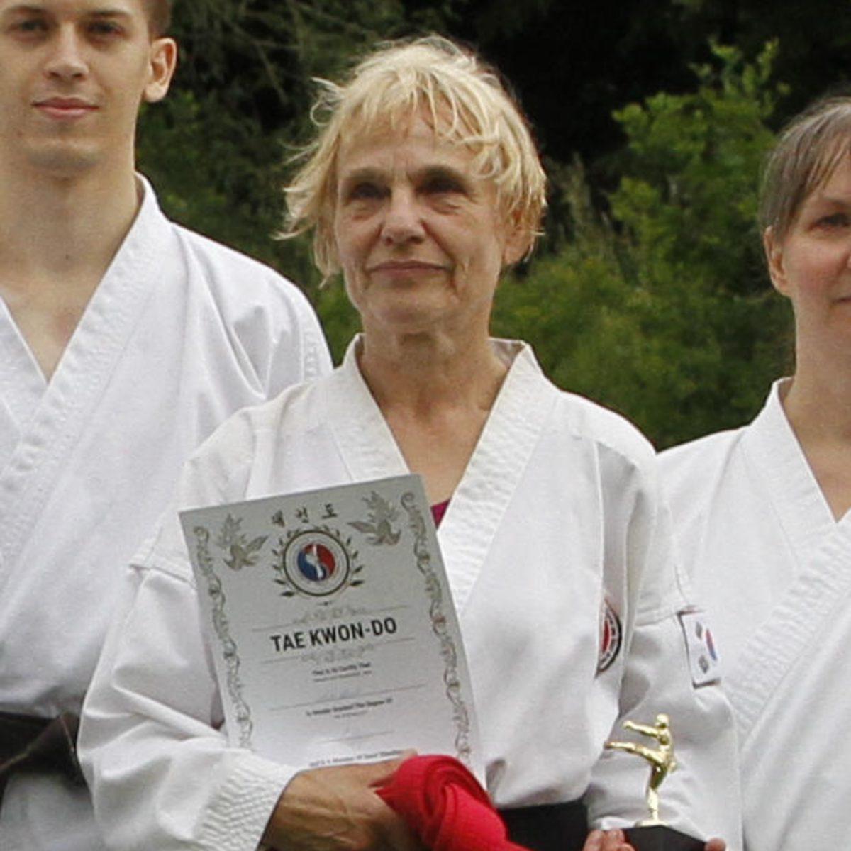 Meisterin Anita Eckardt, 1. Dan - Jena