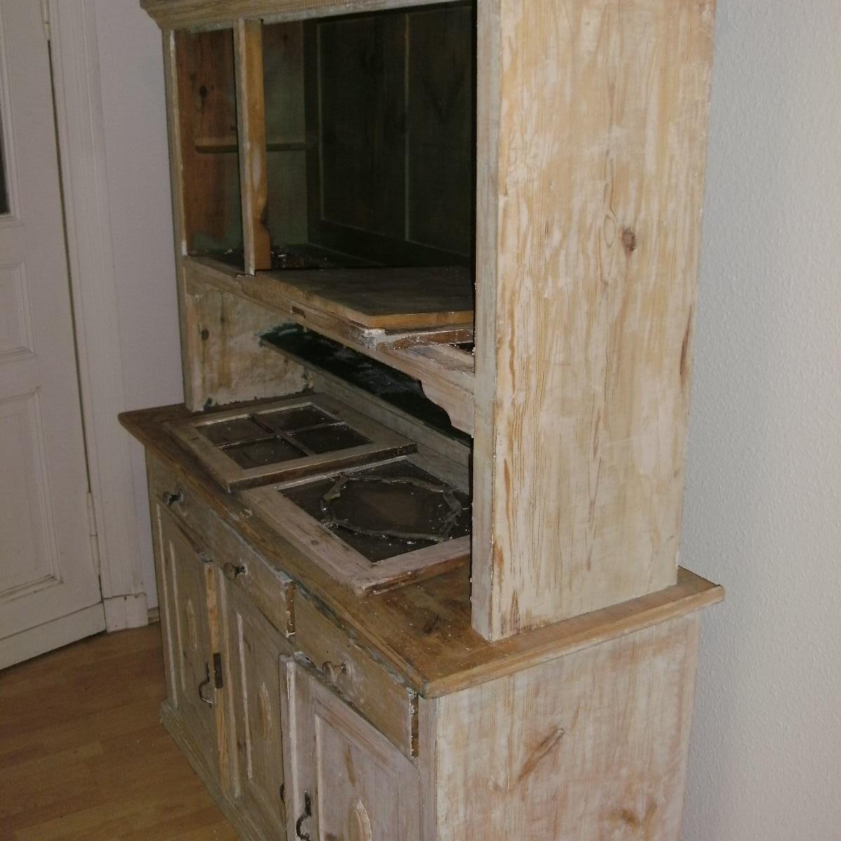Bau u.Möbelhandwerk, Küchenbüffet orginal Zustand
