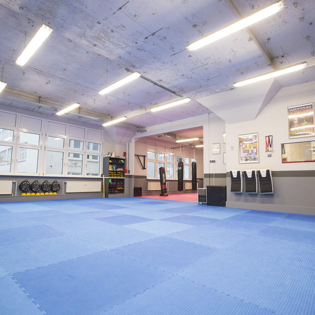 Trainingsbereich der Kampfsportschule Jena - BUDOSPORT.CLUB