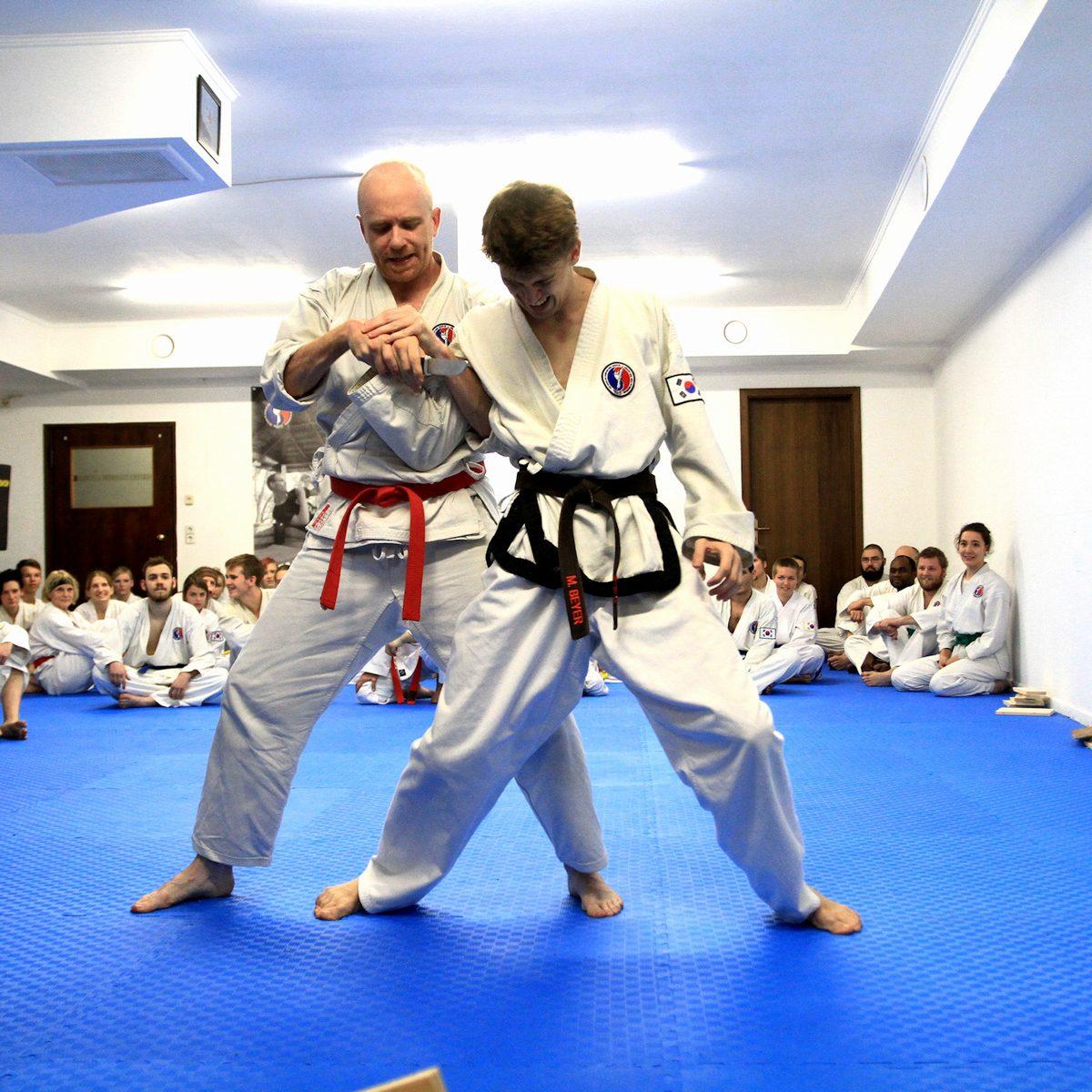 Kampfkunst, Kampfsport (Tae Kwon-Do und Karate) und Selbstverteidigung für Jugendliche und Erwachsene in der Kampfsportschule Weimar.