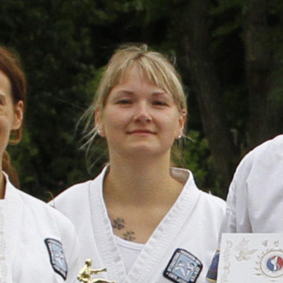 Meisterin Josie Rossmann, 1. Dan - Stadtroda