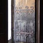 uralte Kirchentür