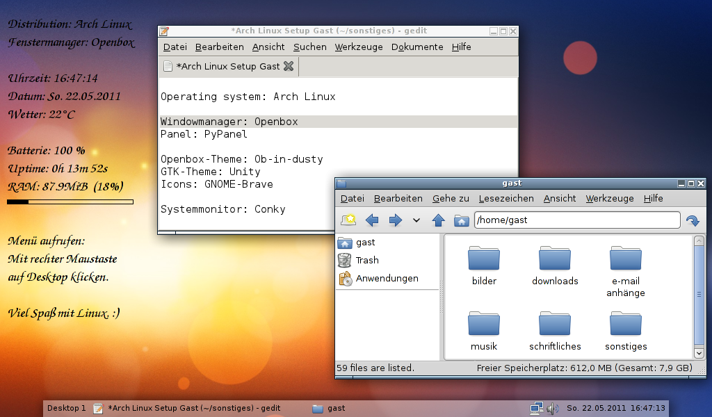 GNU/Linux - AlbinoGryphon de