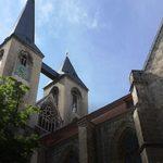 ein Wahrzeichen-die Kirche St. Martini