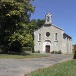 die protestantische Kirche von Sauveterre
