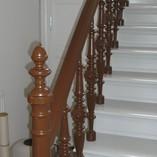 Treppe schön fertiggestellt