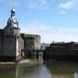der Eingang zur Festungsstadt Coucarneau