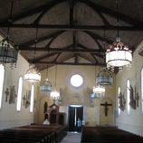 die Kirche innen