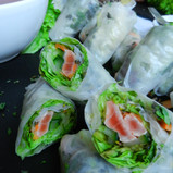 Fingerfood Berlin: Salmon Roll