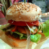 FIne Asian Cuisine: Thai Chicken Burger