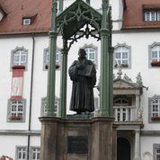Lutherdenkmal auf dem Markt