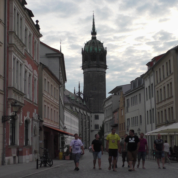 Wittenberg, die historische Hauptstraße