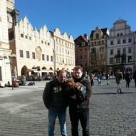 Franky in Prag
