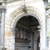 Kirchenportal von St. Peer de Lacronan