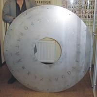 Stahlrundgravur auf Edelstahl