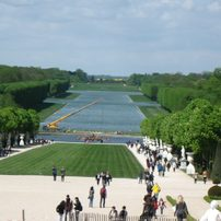 Mittelachse im Park von Versailles