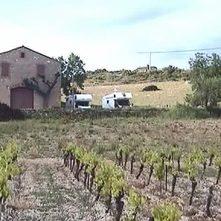 Stellplatz neben dem Weingut