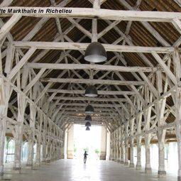 alte Markthalle in Richelieu