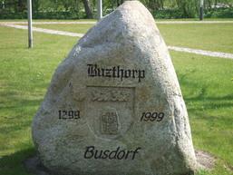 Gemeindestein am Ehrenmal
