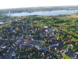Luftbild Dorfzentrum