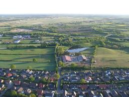 Luftbild Wohngebiet