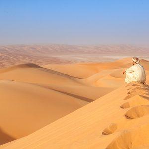 Safari durch Dubais Wüste