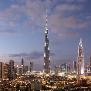 Burj Khalifa und Dubai