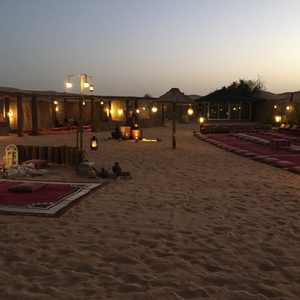 Wüstencamp in Dubai