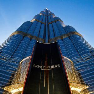 Burj Khalifa Frosch Perspektive