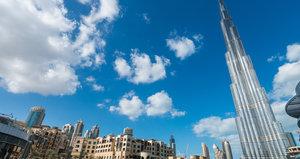 Burj Khalifa Froschperspektive