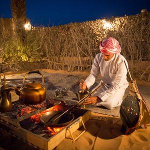 Vorbereitung der Shisha Kohlen