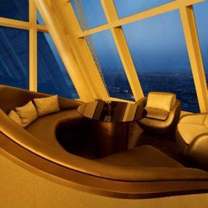 Lounge Überblick über Dubai