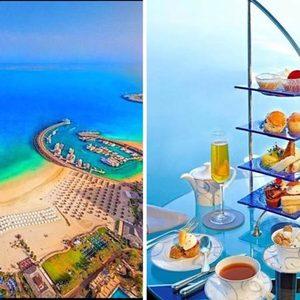 Frühstück im Burj al Arab