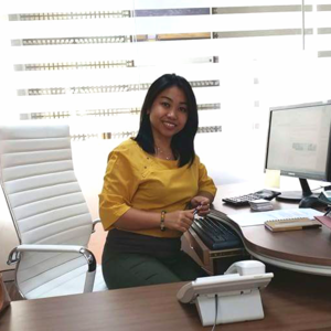 Office Managerin Hannah