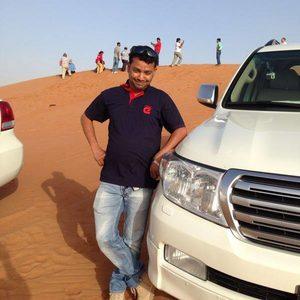 Safari-Fahrer Shehab