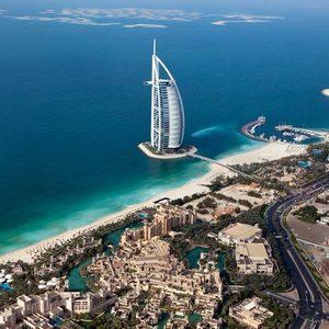 Burj al Arab Vogelperspektive