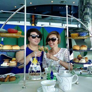Dubai Tee und Süßspeisen