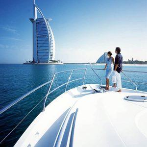 Burj al Arab vom Boot