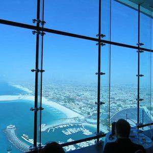 Ausblick vom Burj al Arab