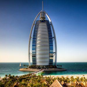 Burj al Arab mit Seeblick