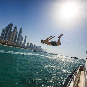 Baden im Persischen Golf