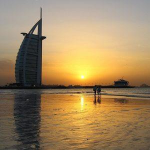 Burj al Arab am Strand