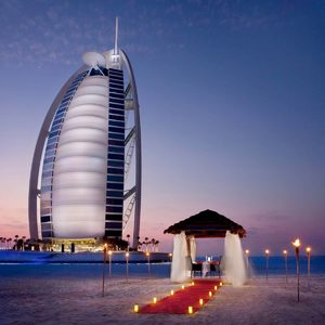 Burj al Arab Dinner for Two