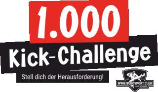 1.000-Kick-Challenge - Stell dich der Herausforderung!