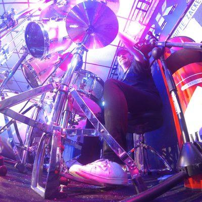 Nordi am Schlagzeug