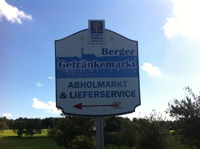 Berger Getränkemarkt, Eröffnung am Freitag 4. April 2014