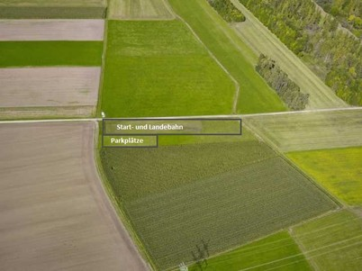 Flugplatz Luftbild