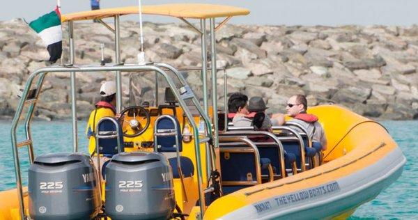 Speed Boot bei der Fahrt